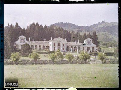Italie, Villa Giaconelli (Extérieur). Villa Barbaro