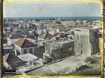 Syrie, Tripoli, Panorama de Tripoli vers le nord. Panorama de la ville en direction du nord