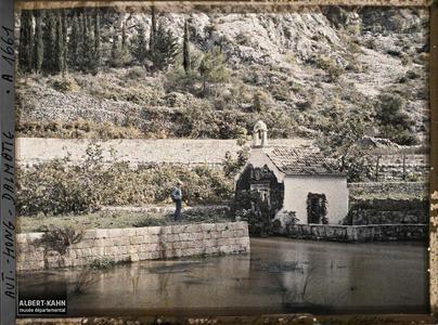 Raguse, Chapelle du moulin de la source de l'Ombla.Chapelle du moulin de la source de l'Ombla