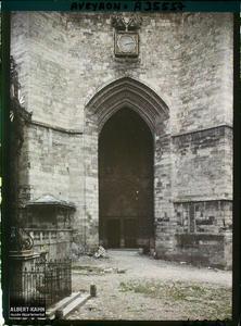France, Villefranche de Rouergue (Aveyron), Portail de l'Eglise Notre Dame