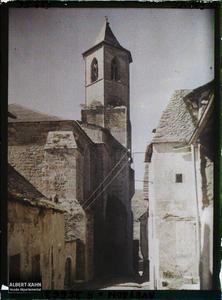 France, Najac, L'Eglise