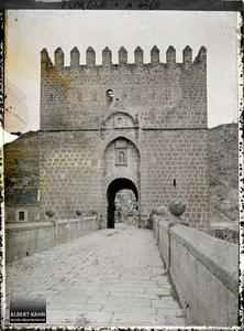 Espagne, Tolède, Porte St-Martin.
