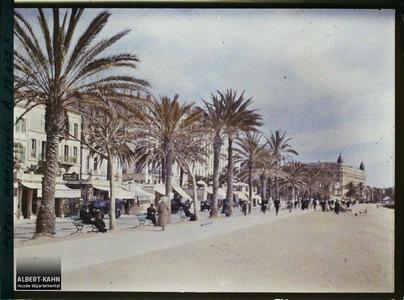 France, Cannes, Promenade de Midi sur la Croisette