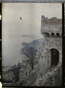 France, Roquebrune, La tour de Guet.
