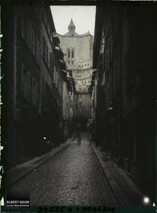 France, Villefranche de Rouergue (Aveyron), Rue de la République