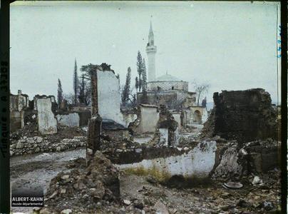 Turquie, Magnesie, Ruines vers Husravagha- Djami