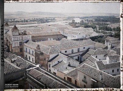 Espagne, Cordoue, Panorama pris du Clocher de la Cathédrale
