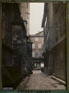 France, Villefranche de Rouergue (Aveyron), Rue Notre Dame
