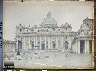Italie, Rome, St Pierre.Basilique Saint-Pierre
