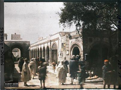 Maroc, Mogador, Un coin des souks. Une partie des souks