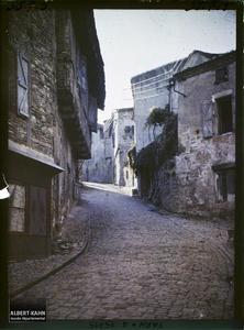 France, Cordes (Tarn), Aspect des rues