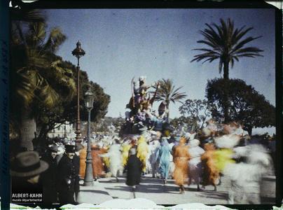 France, Nice, Le Carnaval.