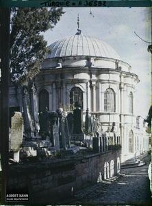 Turquie, Constantinople - Eyoub, Cimetière d'Eyoub - Tombes et Turbés