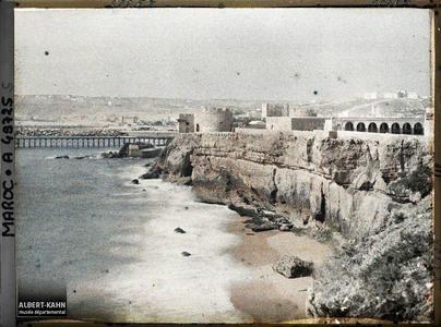 Maroc, Safi, Le Dar-el-Bahar. Le Dar el-Bahar (« le château de la mer »), une forteresse portugaise du XV eme siècle
