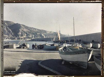 France, Cap-Martin , Le Port de Menton Garavan