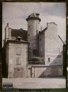 France, Villefranche de Rouergue (Aveyron), Vieille Maison Place de l'Hôtel de Ville