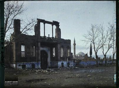 Turquie, Magnesie, Ruines d'une Caserne