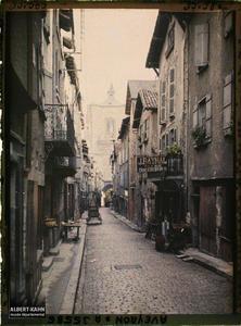 France, Villefranche de Rouergue (Aveyron), Rue de Montlauser