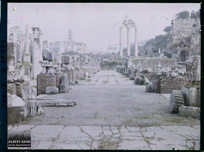Italie, Rome, Basilica Julia.Basilica Julia