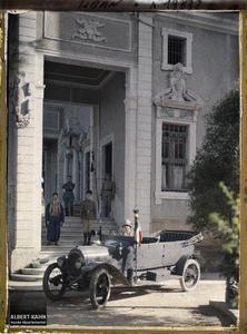 Syrie, Beyrouth, Entrée de l'Hôtel du Général Gouraud. Entrée de la résidence du général Gouraud, haut-commissaire de la République française