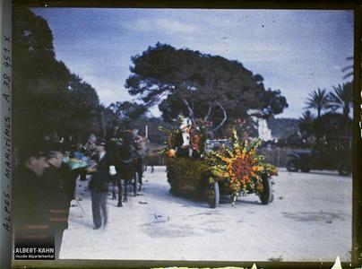 France, Nice, La fête des fleurs