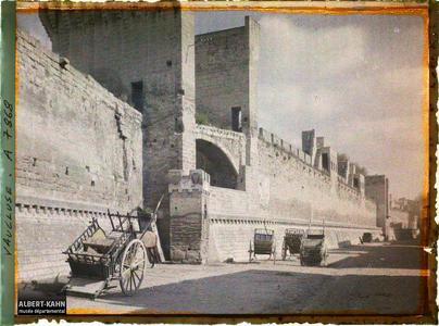 France, Nîmes, Temple de Diane (ou Nemausus)