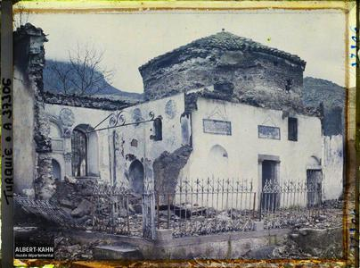Turquie, Magnesie, Ruines de la Djami- Tchatal. Ruines d'une mosquée